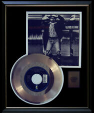 U2  BB KING WHEN LOVE COMES TO TOWN  GOLD RECORD DISC  45 RPM  RARE