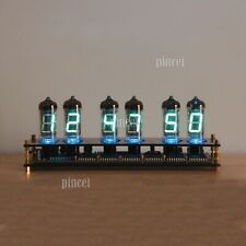IV11 VFD Clock Fluorescent Tube Clock Colors Light Display Time Date Temperature