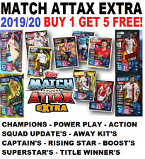 Topps Match Attax Extra Champions League 2019/20 19/20   BUY 1 GET 5 FREE!!