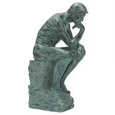 The Thinker Statue Rodin Heroic Labor Sculpture