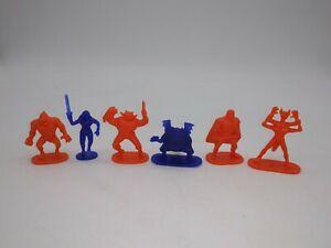 Vintage Durham Fantasy Fortress Full sculpt Figure LOT RARE Fantasy Playset toys