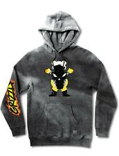 Grizzly x Marvel Ghost Rider Pullover Hoodie Size Large - Grizzly Griptape