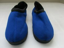 New Men's Women's Avon Memory Foam Unisex Slipper Small 5-6 Blue 41F dc