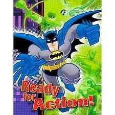 RARE Batman Brave & Bold Superhero Cartoon Kids Birthday Party Invitations