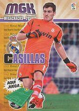 N°200 IKER CASILLAS # ESPANA REAL MADRID CARD PANINI MGK LIGA 2014