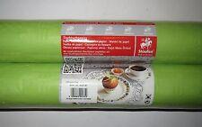 2 Rotolo 1mx10m Carta Tovaglia Panno Tabella Verde Mela Compleanno Decorazione