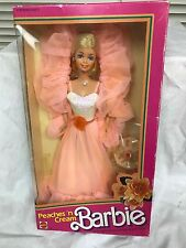 Vintage 1984 Peaches 'N Cream Barbie Doll, Mattel #7926 NIB NRFB VINTAGE RARE