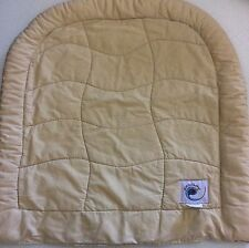 Ergo Ergobaby Infant Carrier Infant Insert~Beige Camel Tan Cotton~ Newborn EUC