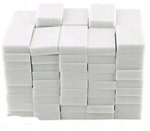 """Magic Sponge Eraser BULK PACK Melamine Cleaning Foam 3/8"""" Thick From USA - 100"""