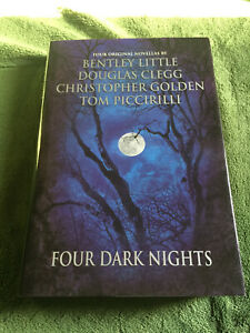 FOUR DARK NIGHTS Bentley Little Hardcover FIRST edition Leisure Books 2002 NF