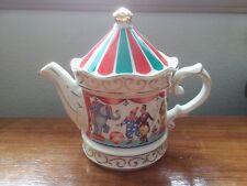 Vintage Teapot Sadler Circus Band Stand Edwardian Staffordshire England