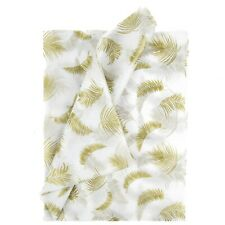 Tissue Paper - Tropical Gold Leaves - 100 Sheets
