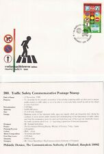 Thailand - 1988 - First Day Cover - Traffic Safety.