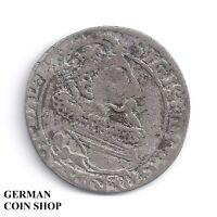 6 Groescher Groszy Argent 1623 Sigismond Zygmunt III Pologne Polska