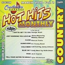 CD musicali country karaoke