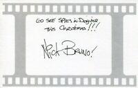 Nick Bruno Animator Director The Peanuts Movie Ice Age Rio Rare Signed Autograph