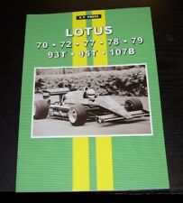 LOTUS 70 72 77 78 79 93T 95T 107B  MAGAZINE REPRINTS CP PRESS RACES &  DRIVERS