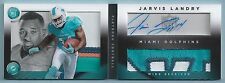 JARVIS LANDRY 2014 PANINI PLAYBOOK RC 6 COLOR PATCH AUTOGRAPH AUTO BOOKLET /10
