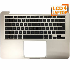 "Top case For Macbook Pro 13"" Retina A1502 2015 B661-02361 Palmrest UK Keyboard"
