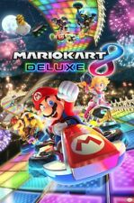 NINTENDO MARIOKART DELUXE 8 VIDEO GAME POSTER PRINT NEW 24x36 FREE SHIPPING