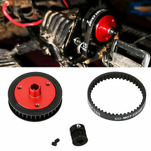 Belt Drive Transmission Gear for 1/10 RC Axial SCX10 & SCX10 II 90046 Gearbox