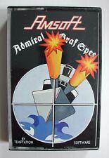 vintage amstrad game amstrad games amsoft game amsoft Admiral Graf Spee game