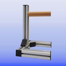 Schießhilfe W 45 klein mit Hartholz Aluprofil silber Edition Gwehrablage Bausatz