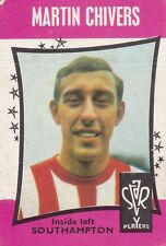 A&BC BUBBLE GUM FOOTBALL CARD ~ NUMBER 43 ~ MARTIN CHIVERS ~ SOUTHAMPTON