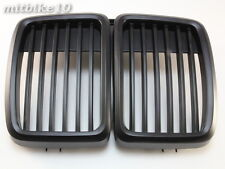For BMW 83-91 E30 Front Grille 3 Series Front Hood Kidney Grille Grill M3 Black