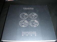 PANERAI 2008 Book Catalogue Catalogo OEM LUMINOR MARINA