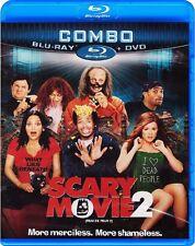 Scary Movie 2 (Blu-ray + DVD) Marlon Wayans, Shawn Wayans, Anna Faris NEW