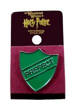 Wizarding World of Harry Potter Slytherin Prefect Pin New on Card