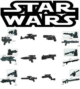 Star Wars Minifigure Weapons Lot Sale - USA SELLER