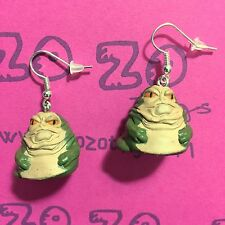 Star Wars Jabba The Hutt pendientes
