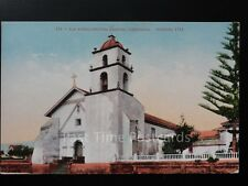 America CALIFORNIA San Burnaventura Mission Founded 1782 Old Postcard