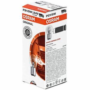 10 x Osram 7537 24V  P21/5W  Brake Stop & Tail Light Bulbs