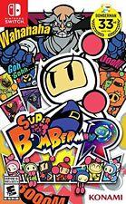 New Super Bomberman R (Nintendo Switch, 2017)