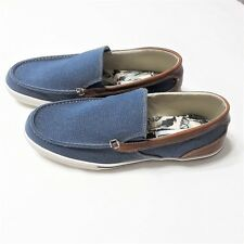 b155a6b16 Tommy Bahama Men s Costa Venetian Boat Loafer Slip On Shoes