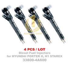 4PCS Bosch CRDI Diesel Fuel Injector 33800-4A600 0445110278 for D4CB VGT