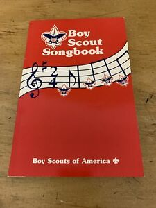 1989 Songbook Vintage Boy Scouts of America BSA Book