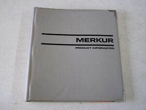 Merkur Dealers Product Guide 1984 1985 Facts Book XR4Ti 1986