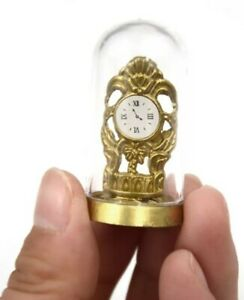 Doll House Accessories 1:12th Miniature 1 Mini Dome Clock