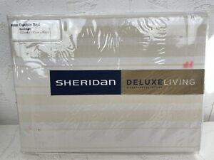 Sheridan Deluxe Living Double Bed Bedskirt 137x190x43cm 'Sellick' in Bone N691