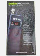 Uniden PRO401HH 40 Channel Handheld CB Radio RETAIL BOX