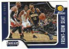 2016-17 Panini Threads Front-Row Seat Insert #2 Paul George Pacers