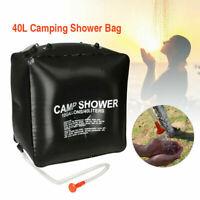 NEW Portable Solar Shower Bag, 10 gallons 40L Solar Heating Camping Shower Bag