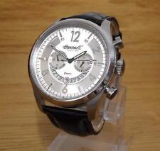 Mens Ingersoll Quartz Chelsea INQ007WHSL Silver Gents 100m Chronograph Watch