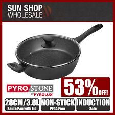100% Genuine! PYROSTONE by PYROLUX 28cm 3.8L Non-stick Saute Pan! RRP $149.00!