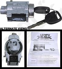 APDTY 035813 Ignition Lock Cylinder Passlock Chip & Keys (Fixes Security Light)
