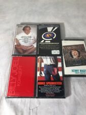 Lot Of Bruce Springsteen, Eagles, James Taylor, Billy Joel, Kenny Roger Cassette